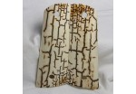 SOLD!ICE CRACKLE BARK MAMMOTH IVORY 1911 GRIPS A-1080