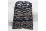 SOLD!CHARCOAL COLOR MAMMOTH TOOTH IVORY 1911 GRIPS A-1085