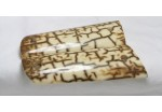 SOLD!EXHIBITION  ICE CRACKLE MAMMOTH IVORY 1911 GRIPS A-1188