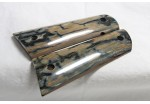 SOLD!BLUE ICE CRACKLE BLUE MAMMOTH IVORY 1911 GRIPS A-1405