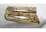 SOLD!ICE CRACKLE BARK MAMMOTH IVORY 1911 GRIPS A-1407