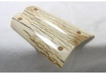 SOLD!BARK MAMMOTH IVORY 1911 GRIPS A-1424