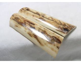 BARK MAMMOTH IVORY 1911 GRIPS A-1439