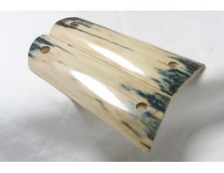 Sold!BARK MAMMOTH IVORY 1911 GRIPS A-1454