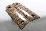 Sold! GOLD MAMMOTH TOOTH IVORY 1911 GRIPS A-1470