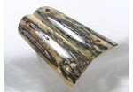 SOLD!BLUE BARK MAMMOTH IVORY 1911 GRIPS A-1471
