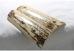 BARK MAMMOTH IVORY 1911 GRIPS A -1483