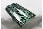 SOLD!EMERALD GREEN MAMMOTH TOOTH IVORY 1911 GRIPS A-1510