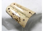 BARK MAMMOTH IVORY 1911 GRIPS A-1511