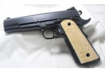 SOLD!EXTRA FANCY FLEUR DEL LIS MAMMOTH 1911 GRIPS A-1561