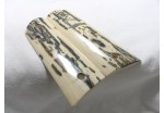 BARK MAMMOTH IVORY 1911 GRIPS A-1566