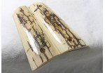 SOLD! AMAZING ICE CRACKLE BARK MAMMOTH IVORY 1911 GRIPS A-1617
