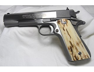 BARK MAMMOTH IVORY 1911 GRIPS A-1624
