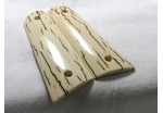BARK MAMMOTH IVORY 1911 GRIPS A-1686