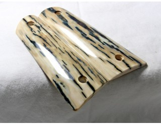 SOLD!BARK MAMMOTH IVORY 1911 GRIPS A-1715