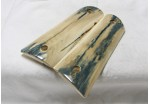 SOLD!BLUE BARK MAMMOTH IVORY 1911 GRIPS A-1822
