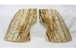 SOLD!BARK MAMMOTH IVORY SINGLE ACTION GRIPS A-1908