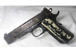 BLUE/BLACK MAMMOTH IVORY 1911 GRIPS A-1913