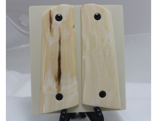 CREAMY COLORED MAMMOTH IVORY 1911 GRIPS A-1963