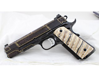 SOLD!MAMMOTH TOOTH IVORY 1911 GRIPS A-1994