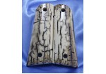 SOLD!Bark Mammoth IVORY 1911 GRIPS A-631