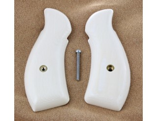 A SPECIAL ORDER! Elephant Ivory S&W K-frame round butt grips