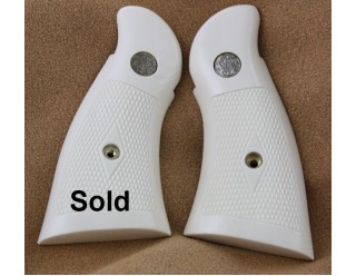 A SPECIAL ORDER! S&W  N-frame Ivory hand checkered grips