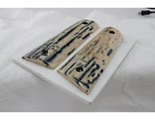 SOLD!PREMIUM MAMMOTH IVORY 1911 GRIPS A-2150